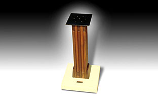 WOODEN STAND / MARBLE BASE